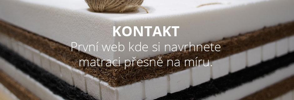 O nás.První web, kde si vytvoříte matraci přesně na míru!