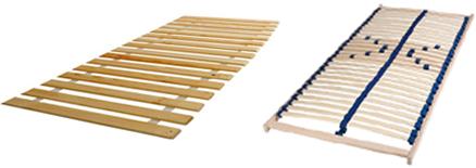 Pevný lamelový či dřevěný rošt